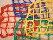Заградительные сетки белые и цветные