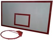 Баскетбольный щит металл 1, 0м. х1, 8м. с кольцом