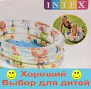 Детский надувной бассейн Intex 57106 NP,  надувное дно,  размер: 61х22см