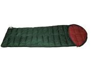 Облегчённый пуховый спальный мешок одеяло с капюшоном на рост до 192